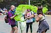 Фарба Холі (Гулал), Зелена, 50 грам, суха порошкова фарба для фестивалів, флешмобів