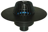 Воронка Hutterer & Lechner с листвоуловителем, теплоизоляцией для FPO-мембран и вертикальным выпуском HL62F