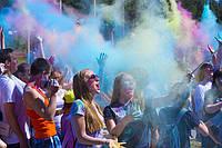Фарба Холі (Гулал), Голуба, фасування 50 грам, суха порошкова фарба для фествиалів, флешмобів