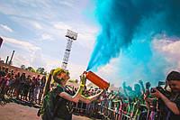 Фарба Холі (Гулал), Голуба, 50 грам, суха порошкова фарба для фестивалів, флешмобів, фото 1