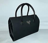 Женская сумка саквояж замша