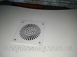 Встроенная вытяжка для маникюрного стола Dekart 2 (белая) 180 куб. м/ год