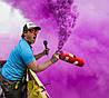 Фарба Холі (Гулал), Фіолетова, 50 грам, суха порошкова фарба для фествиалів, флешмобів