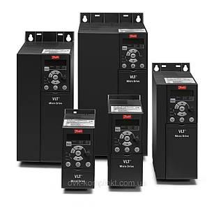 132F0003 Частотный преобразователь Danfoss (Данфосс) MicroDrive FC 51 0,75 кВт/1ф