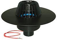 HL62.1F Воронка с листвоуловителем, с теплоизоляцией, для FPO-мембран, с вертикальным выпуском и электрообогре
