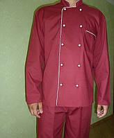 Костюм пекаря мужской женский. Одежда для поваров