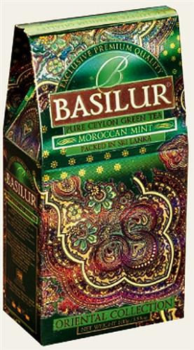 """Чай """"Basilur"""" Восточная Коллекция """"Moroccan Mint"""", 100 г"""