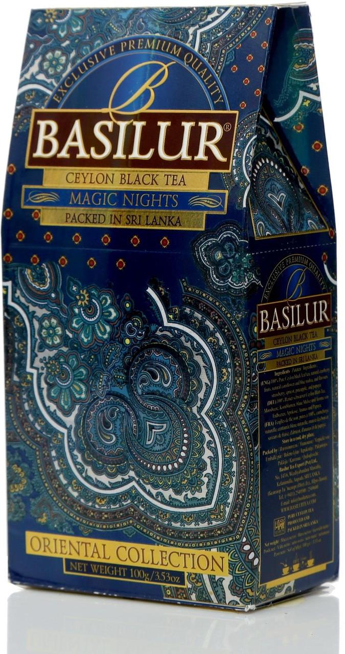 """Чай """"Basilur"""" Восточная Коллекция """"Magic Nights"""", 100 г"""