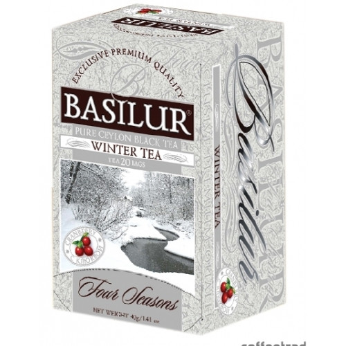 "Чай ""Basilur"" Базилур ""Лист"" Зимний, 20 ф/п"