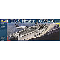 Сборная модель Revell Авианосец U.S.S. Nimitz CVN-68 1:720 (5130)