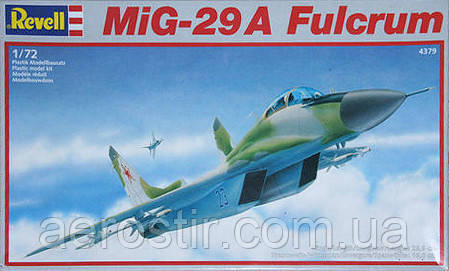 MiG-29A Fulcrum 1/72 REVELL 4379