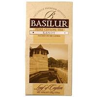 """Чай """"Basilur"""" Базилур """"Лист Цейлона"""" Канди, 100 г"""