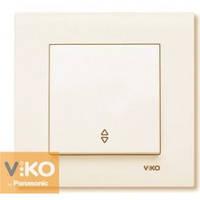 Выключатель проходной крем Viko (Вико) Karre (90960104)