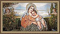 """Образ """"Богородица с младенцем"""" гобеленовая 300х600мм №G100"""