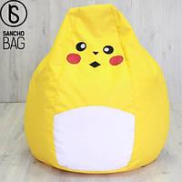 Детское бескаркасное кресло Pokemon GO XXL