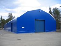 Тентовые склады, изготовление и ремонт