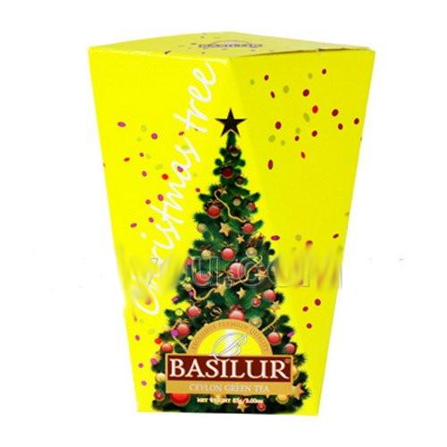 "Чай ""Basilur"" Базилур ""Christmas Tree"" (желтая), 85 г"