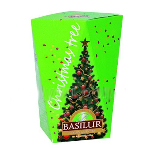 "Чай ""Basilur"" Базилур ""Christmas Tree"" (зеленая), 85 г"