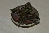 Змінна кнопка чанка ручної роботи з метеликом, фото 2