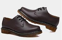 Женские ботинки Dr. Martens 1461 коричневые