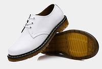 Женские ботинки Dr. Martens 1461 белые