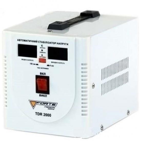 Стабілізатор напруги релейного типу Forte TDR-2000VA