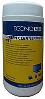 """Салфетки для чистки экранов """"Economix"""""""
