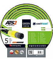 Шланг Cellfast (Селфаст) Green ATS2 ПВХ пятислойный армированный 3/4 19мм 25м, фото 1