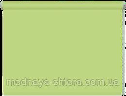 Тканевые рулонные шторы Black out (блэкаут) ЗЕЛЕНЫЙ, РАЗМЕР 40х170 см