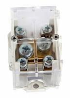 Клеммная колодка магистральная (проходимая) e.tc.main.brass.35k, 1х35 мм.кв./4х6 мм.кв.,латунный контакт