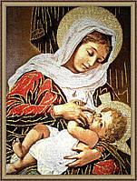 """Образ """"Богородица с младенцем"""" гобеленовая 400х600мм №G104"""
