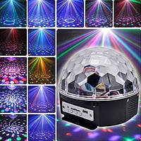 Светомузыка диско шар c Bluetooth Magic Ball Music XXB 01/M6 + BT MP3 плеер