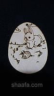 Пасхальное яйцо (заготовка для творчества и рукоделия из фанеры), 7х5.5 см., 12\10 (цена за 1 шт. + 2грн.)