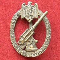Знак Зенитная артиллерия, Вермахт