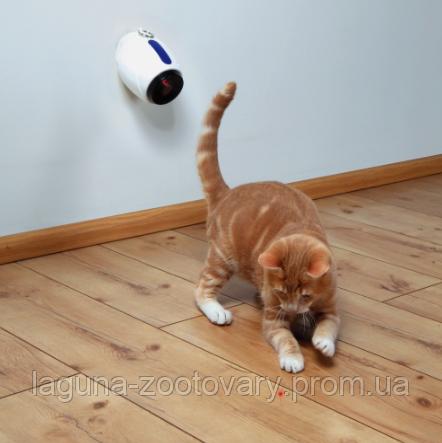 """Интерактивная игрушка на стену для котят, кошек, котов """"Движущийся лазер"""""""
