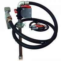 Насос PTP 12В, 40 л/мин для перекачки дизельного топлива (дизеля, ДТ) из бочки или бака. КИЕВ
