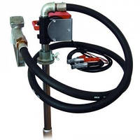 Насос PTP 24В, 40 л/хв для перекачування дизельного палива (дизеля, ДТ) з бочки або бака. КИЇВ