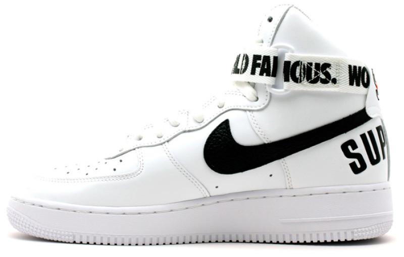 130c02b2b1c4 Мужские кроссовки Nike Air Force 1 High Supreme White - Интернет-магазин  обуви и одежды
