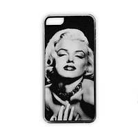 Чехол для iPhone 5/5S Marilyn Monroe - черный