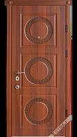 Входная дверь Страж prestige Афина + декор Афина стальной