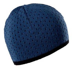 Теплая вязанная мужская шапочка  от Loman Польша, фото 3