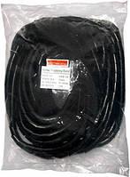 Спиральная обвязка e.spiral.stand.6.black, 4-50 мм, 10м, черная