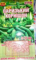 "Семена огурцов ""Парижский корнишон"" ТМ VIA-плюс, 45-55 семян (Польша)"