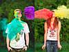 Фарба Холі, Краска Холи, Гулал, Біла, від 10 кг., для фествиалів, флешмобів, фото