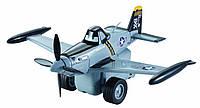 Инерционній самолетик Дасти, серый, Литачки (аэротачки), Mattel