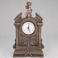 """Оригинальные часы настольные """"Ангелочек"""" бронзовое покрытие"""
