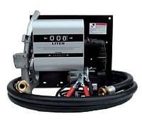 Топливораздаточная колонка WALL TECH 60, 12В, 60 л/мин для дизельного топлива с расходомером КИЕВ