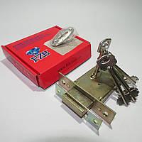 Замок врезной сувальдный FZB13-04 5-ключей
