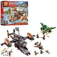 Конструктор 06028 NJ, аналог популярного Lego Ninjago, транспорт, фигурки, 808 деталей, в коробке, супер игра