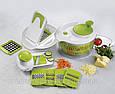 Овощерезка Salad Spinner mandoline slicer 4 in 1, измельчитель Салат Чиф Chef, фото 4